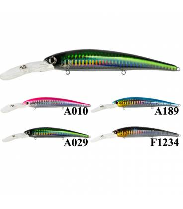 peces artificiales X-Ray Crust Minnow