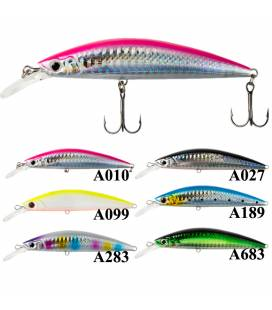 More about Peces X-Way Dive Minnow
