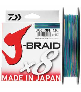 More about Daiwa J Braid X8 Multicolor