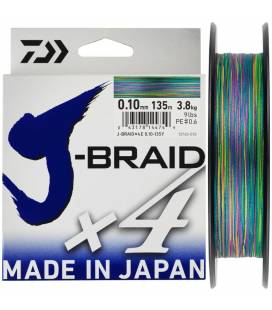 trenzados daiwa j-braid multicolor