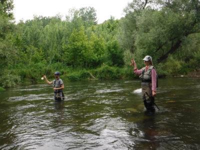 curso pesca mosca girona