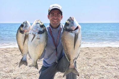 pesca doradas almeria