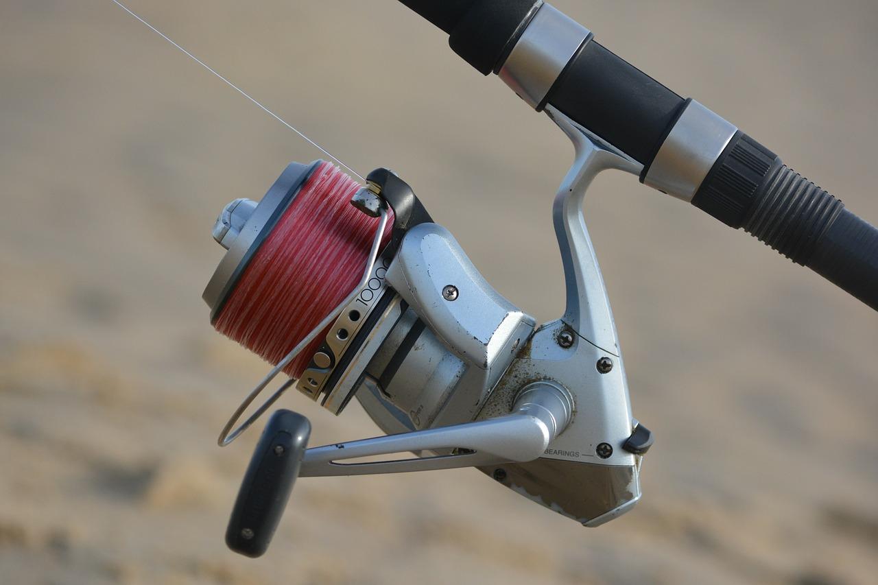 cómo preparar una caña de pescar